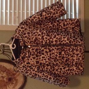Chico's Jackets & Coats - Chicos Leopard jacket